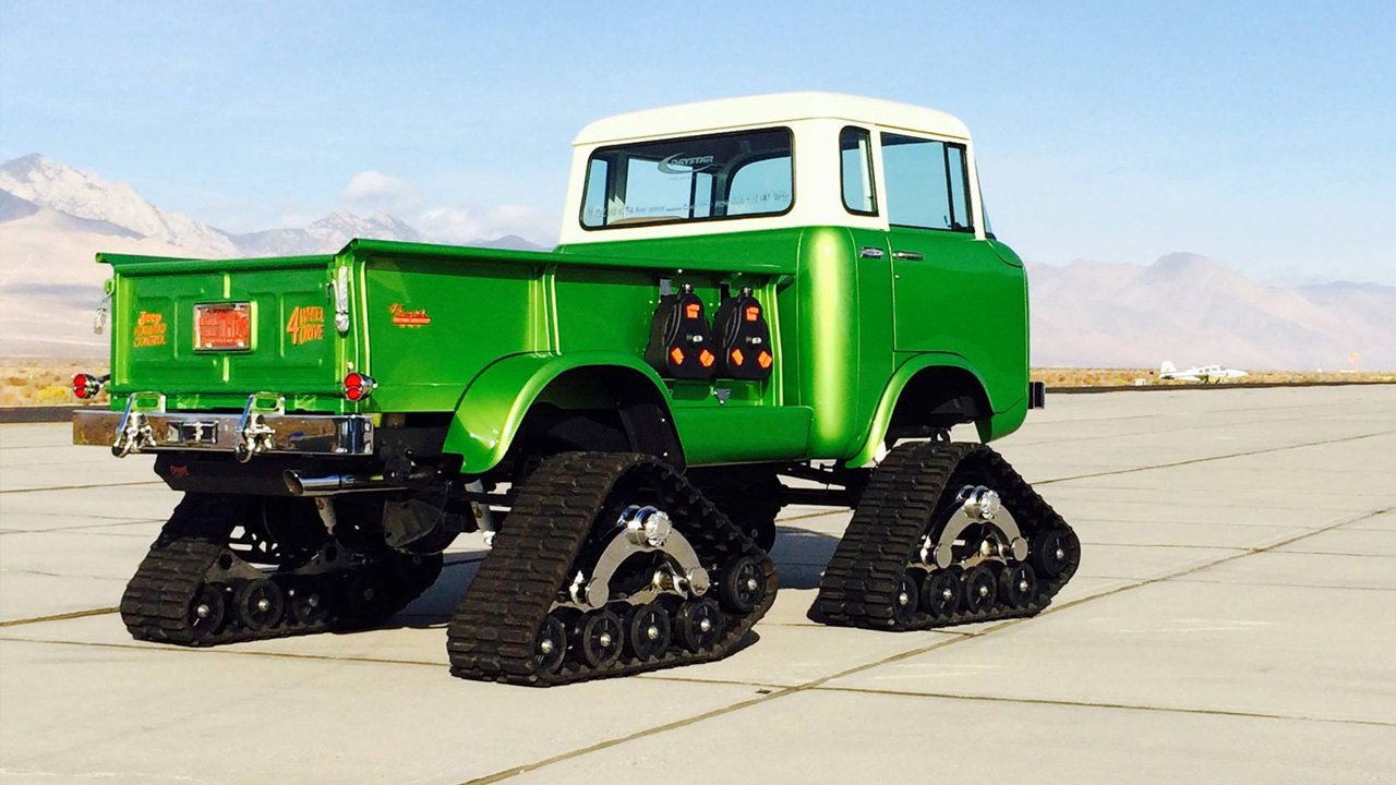 A One Of A Kind 1958 Jeep Fc 150 Mattracks News